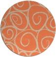 rug #668397   round beige natural rug