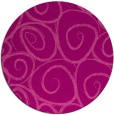 rug #668409 | round pink circles rug