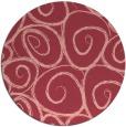 rug #668417 | round pink circles rug