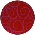 rug #668453 | round red circles rug