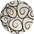 rug #668497   round brown rug