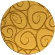 rug #668505 | round light-orange popular rug