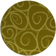 rug #668521 | round light-green circles rug