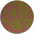 rug #668529 | round light-green natural rug
