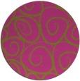 rug #668530 | round natural rug