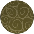 rug #668533 | round light-green circles rug