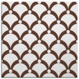 rug #668921 | square brown retro rug