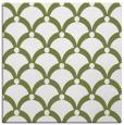 rug #668941 | square green retro rug