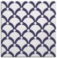 rug #668989 | square blue-violet retro rug