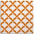 rug #669161   square red-orange retro rug