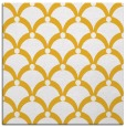 rug #669193 | square yellow retro rug
