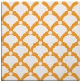 rug #669249 | square light-orange retro rug
