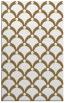 rug #669629 |  mid-brown retro rug