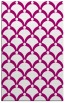 rug #669637    pink retro rug