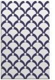 rug #669693 |  blue-violet retro rug