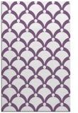 rug #669705 |  purple retro rug