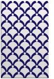 rug #669713 |  blue-violet retro rug