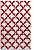 rug #669797 |  orange retro rug