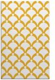 rug #669897 |  yellow retro rug