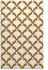 rug #669913 |  yellow retro rug