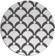 rug #669969   round black retro rug