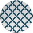 rug #669984 | round retro rug