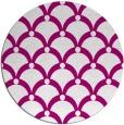rug #669989 | round pink rug