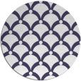 rug #670045   round blue-violet rug