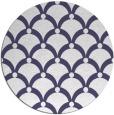 rug #670049 | round blue-violet retro rug