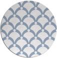 rug #670073   round blue-violet retro rug