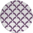 rug #670141 | round purple retro rug