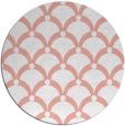 rug #670177 | round pink rug