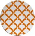 rug #670205 | round orange popular rug