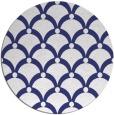 rug #670241   round white retro rug