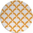 rug #670305   round light-orange retro rug