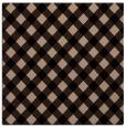 rug #670677 | square beige check rug