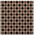 rug #670681 | square brown check rug