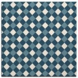 rug #670689 | square white check rug
