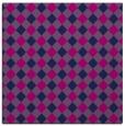 rug #670693 | square pink check rug