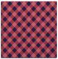 rug #670757   square pink check rug
