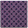 rug #670761 | square purple check rug