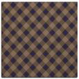 rug #670773 | square beige check rug