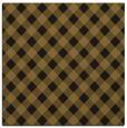 rug #670781 | square mid-brown check rug