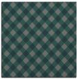 rug #670793   square green check rug