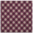 rug #670821   square pink check rug