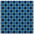 rug #670833   square blue check rug