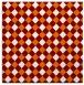 rug #670857 | square orange check rug