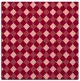 rug #670881   square pink check rug