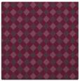 rug #670889 | square purple check rug