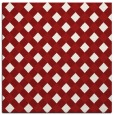 rug #670913 | square red check rug